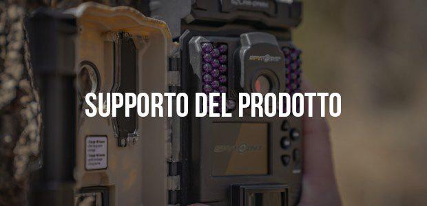 Supporto del prodotto